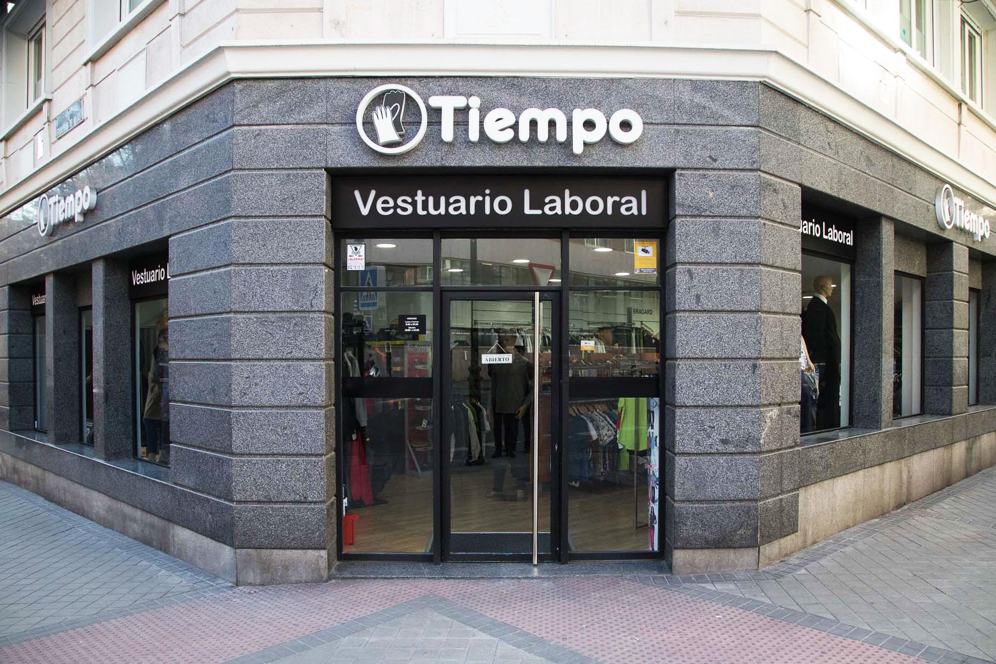 Tiempo Laboral - Tienda de Vestuario Laboral y Equipos de protección en Madrid