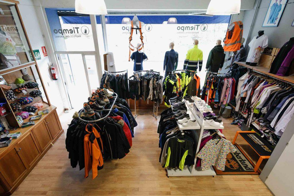 Personaliza ropa de trabajo. Tienda profesionales y empresa en Zamora