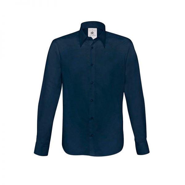 camisa-bc-london-bcsm580-azul-marino
