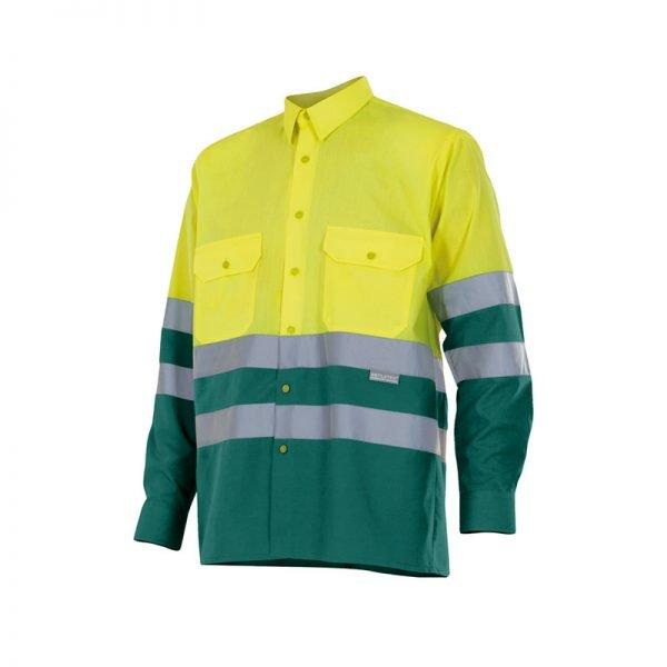 camisa-velilla-alta-visibilidad-144-amarillo-verde