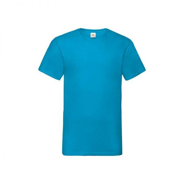 camiseta-fruit-of-the-loom-valueweight-v-neck-t-fr610660-azul-turquesa