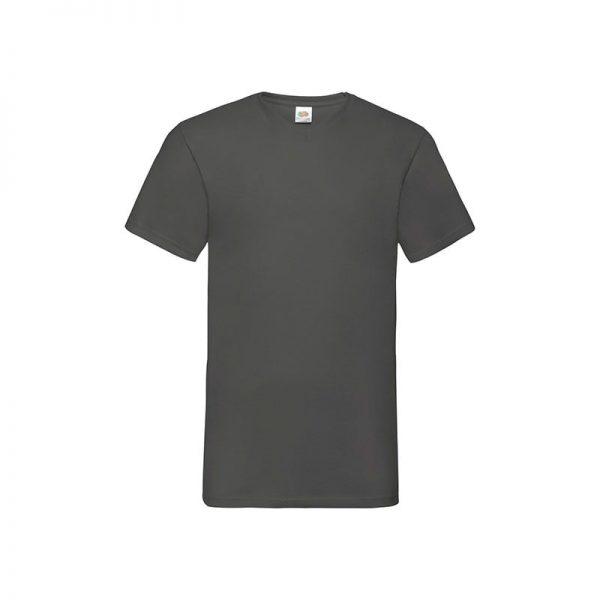 camiseta-fruit-of-the-loom-valueweight-v-neck-t-fr610660-gris-grafito