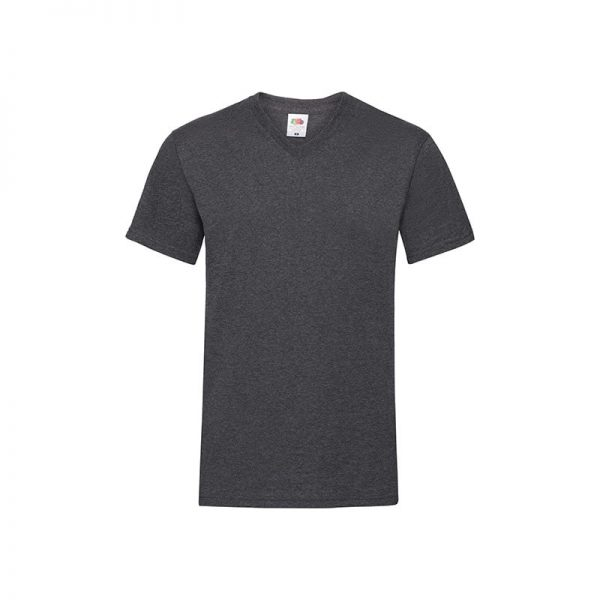 camiseta-fruit-of-the-loom-valueweight-v-neck-t-fr610660-gris-oscuro-heather