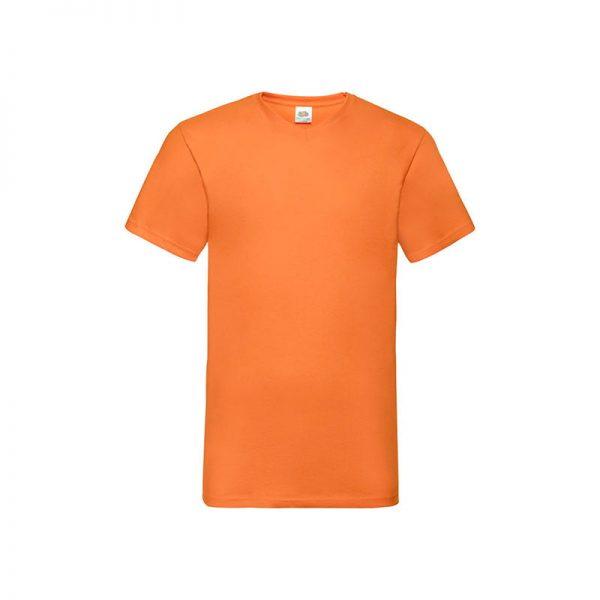 camiseta-fruit-of-the-loom-valueweight-v-neck-t-fr610660-naranja