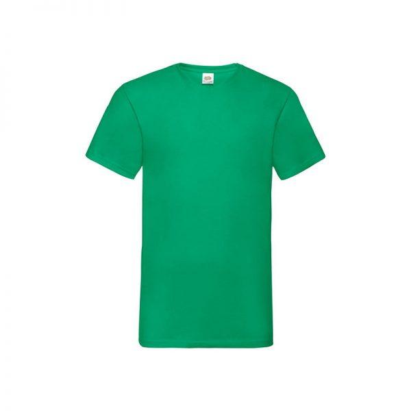 camiseta-fruit-of-the-loom-valueweight-v-neck-t-fr610660-verde-kelly
