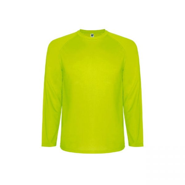camiseta-roly-montecarlo-ls-0415-amarillo-fluor