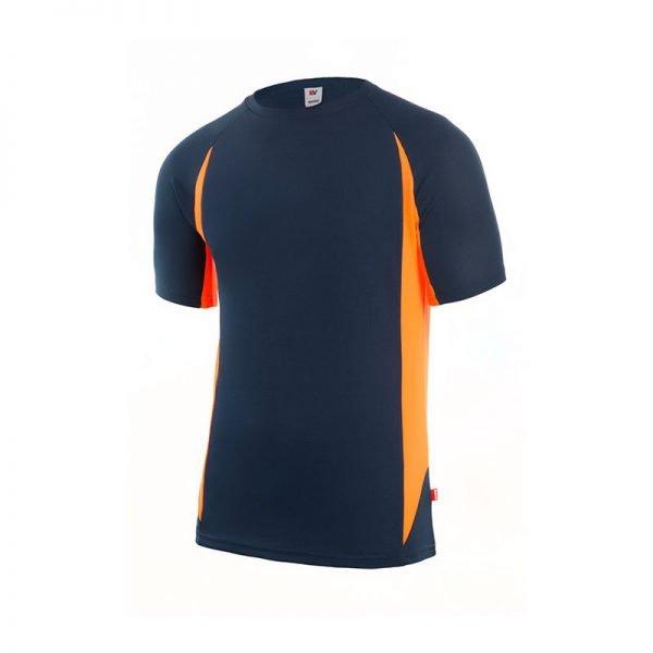 camiseta-velilla-105501-marino-naranja