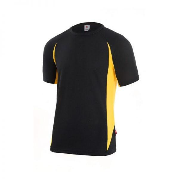 camiseta-velilla-105501-negro-amarillo