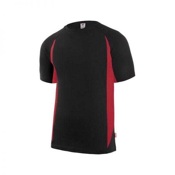camiseta-velilla-105501-negro-rojo
