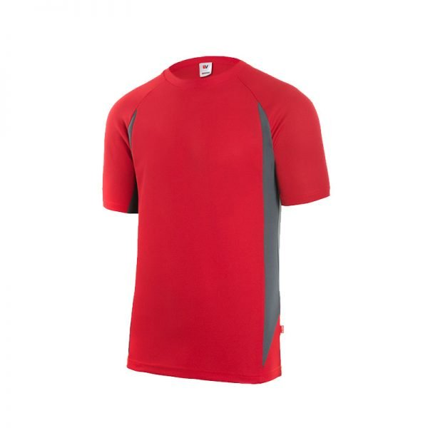 camiseta-velilla-105501-rojo-gris