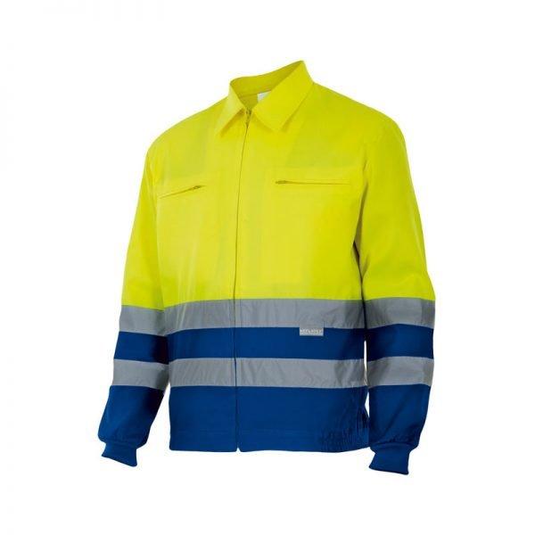 chaqueta-alta-visibilidad-velilla-153-amarillo-azul-royal