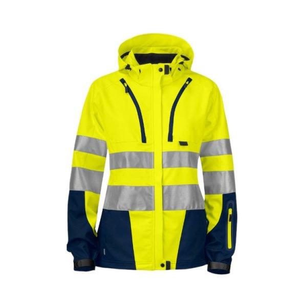 chaqueta-projob-alta-visibilidad-mujer-6423-amarillo-fluor-marino
