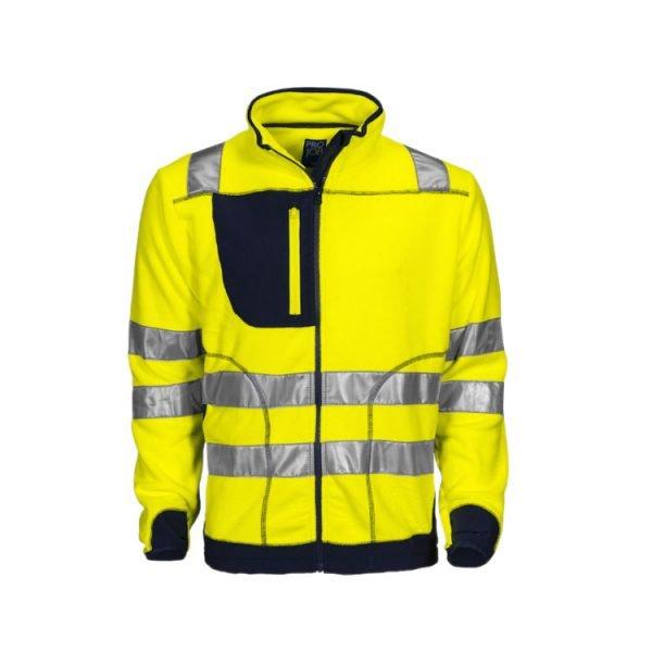 chaqueta-projob-polar-alta-visibilidad-6303-amarillo-fluor-marino