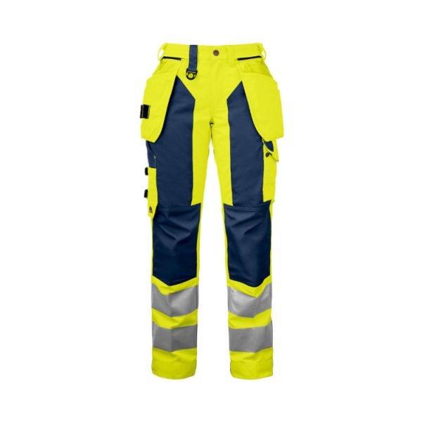pantalon-projob-alta-visibilidad-6519-amarillo-fluor-marino