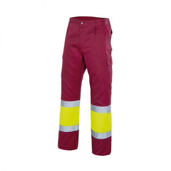 pantalon-velilla-alta-visibilidad-157-granate-amarillo