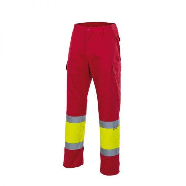 pantalon-velilla-alta-visibilidad-157c-rojo-amarillo