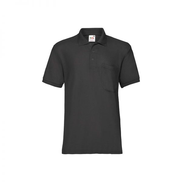 polo-fruit-of-the-loom-fr633080-negro