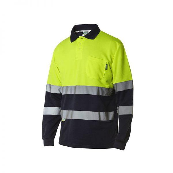 polo-monza-alta-visibilidad-4754-amarillo-fluor-marino