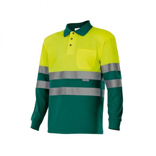 polo-velilla-alta-visibilidad-175-verde-amarillo