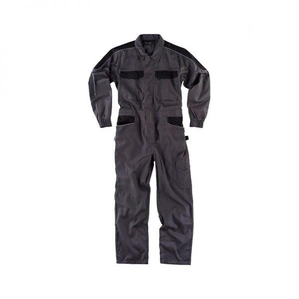 buzo-workteam-wf1042-gris-oscuro-negro