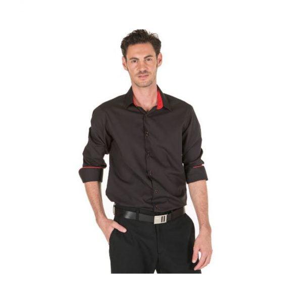 camisa-garys-2603-negro-rojo