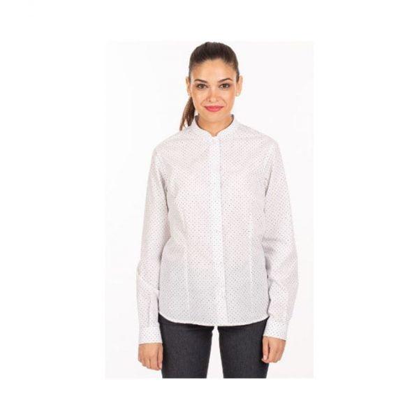 camisa-garys-fiorella-2498-blanco-topos-marino