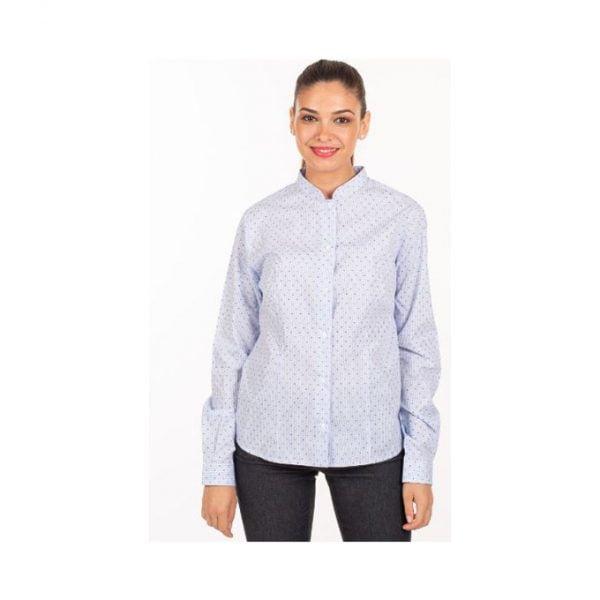 camisa-garys-fiorella-2498-rayas-puntos-marino