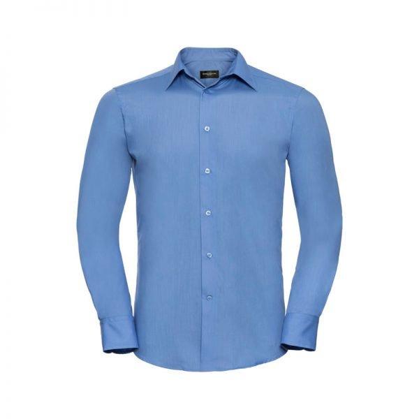 camisa-russell-924m-azul-corporativo