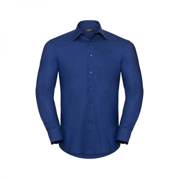 camisa-russell-oxford-922m-azul-brillante