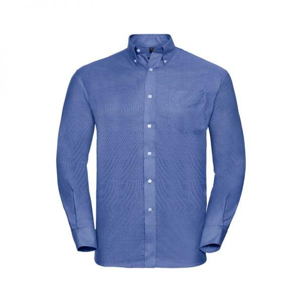 camisa-russell-oxford-932m-azul-brillante