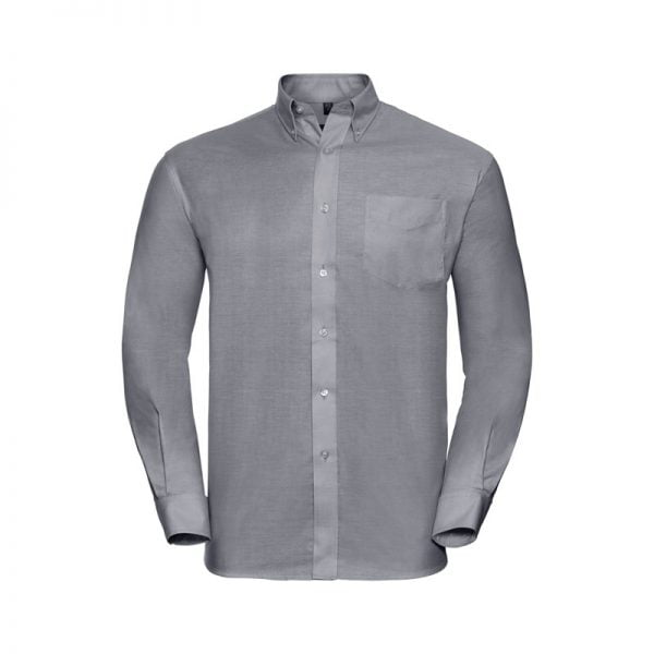camisa-russell-oxford-932m-gris-plata