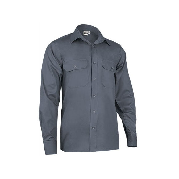 camisa-valento-manga-larga-condor-gris