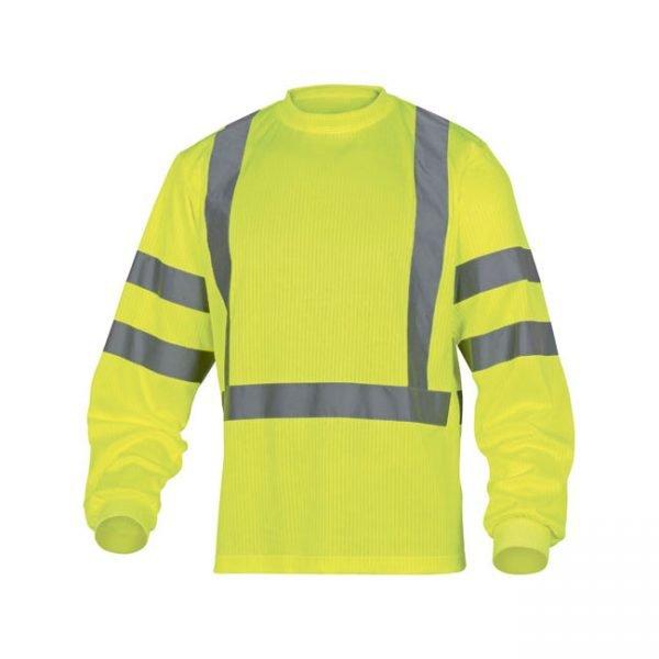 camiseta-deltaplus-alta-visibilidad-rudder-amarillo-fluor