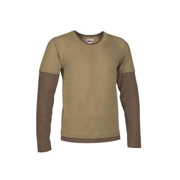 camiseta-valento-denver-camel-oliva