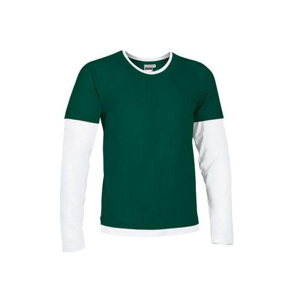 camiseta-valento-denver-verde-botella-blanco