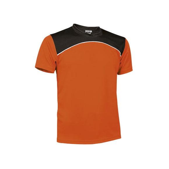 camiseta-valento-maurice-naranja-fluor-blanco-negro