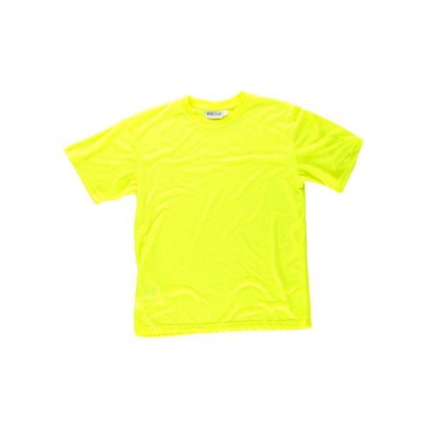 camiseta-workteam-alta-visibilidad-c6010-amarillo-fluor