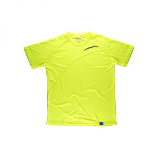 camiseta-workteam-s6610-amarillo-fluor