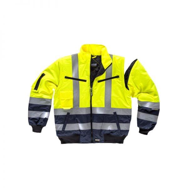 cazadora-workteam-alta-visibilidad-desmontable-c3730-amarillo-fluor