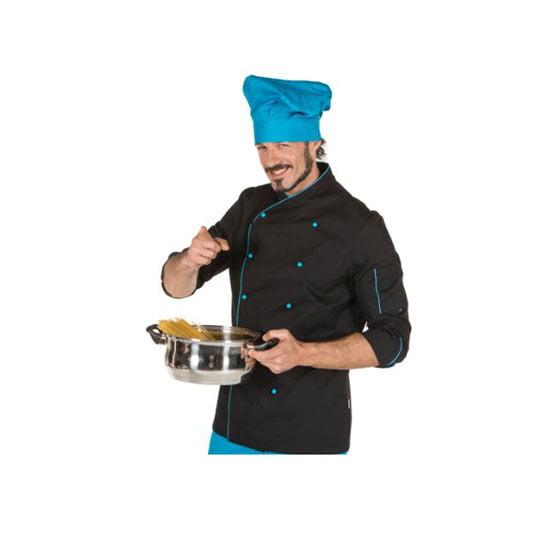 chaqueta-garys-cocina-9313-negro-azul-turquesa