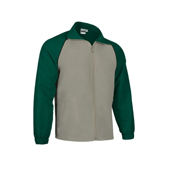chaqueta-valento-deportiva-match-point-chaqueta-verde-botella-beige-negro