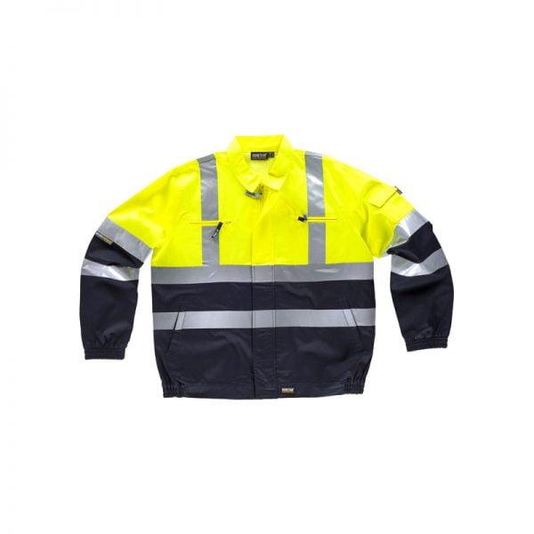 chaqueta-workteam-alta-visibilidad-c3211-azul-marino-amarillo