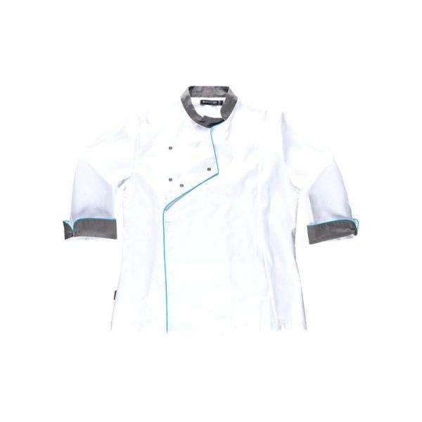 chaqueta-workteam-b9242-blanco-gris