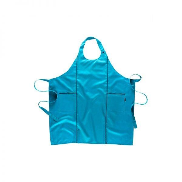 delantal-workteam-m520-azul-turquesa
