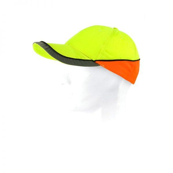 gorra-workteam-alta-visibilidad-wfa903-amarillo-naranja