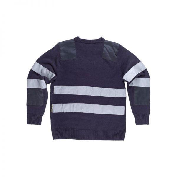 jersey-workteam-alta-visibilidad-s5507-azul-marino