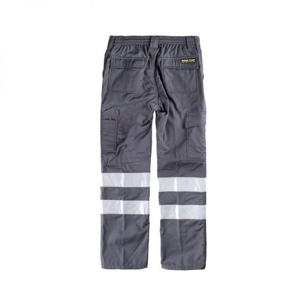 pantalon-workteam-alta-visibilidad-b1417-gris