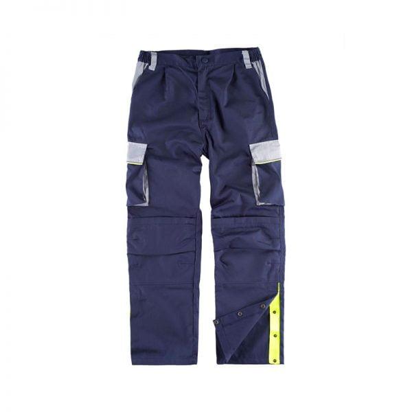 pantalon-workteam-wf5852-azul-marino-gris-claro