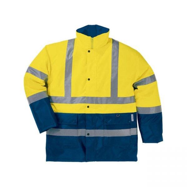parka-deltaplus-alta-visibilidad-strada2-amarillo-fluor-marino