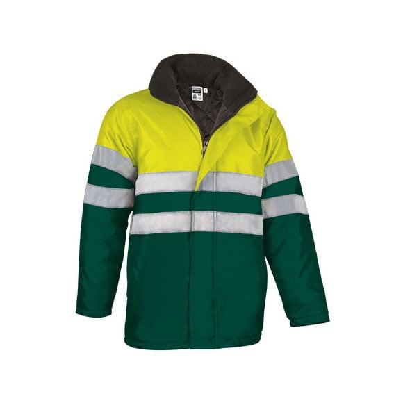 parka-valento-traffic-alta-visibilidad-amarillo-fluor-verde-botella